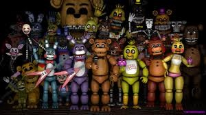 Five nights at Freddy characters