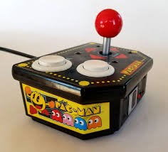 Pac-man gaming controller from 1980